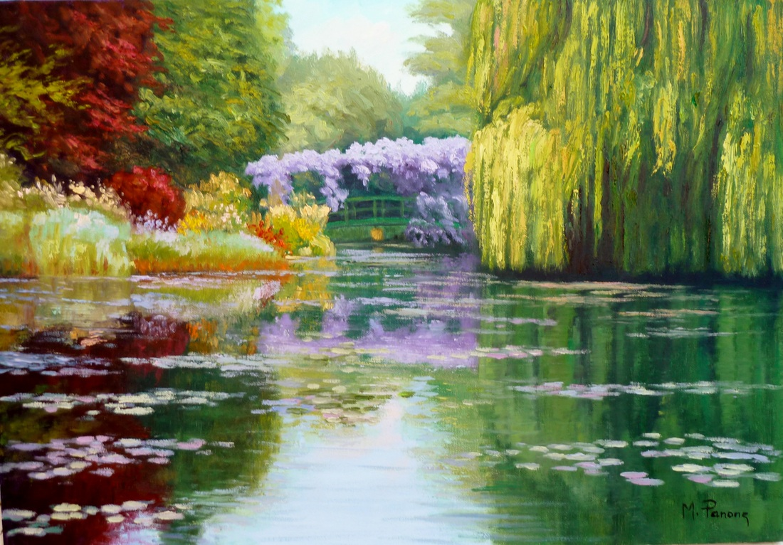 Aliexpress.com : Buy landscape floral oil painting on